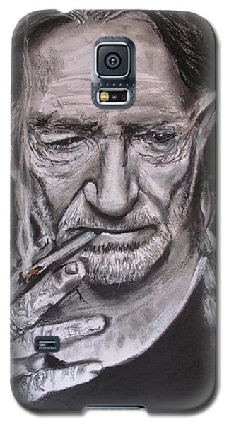 Willie Nelson - Doobie Brother Galaxy S5 Case by Eric Dee
