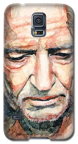 Willie Nelson  Galaxy S5 Case by Laur Iduc