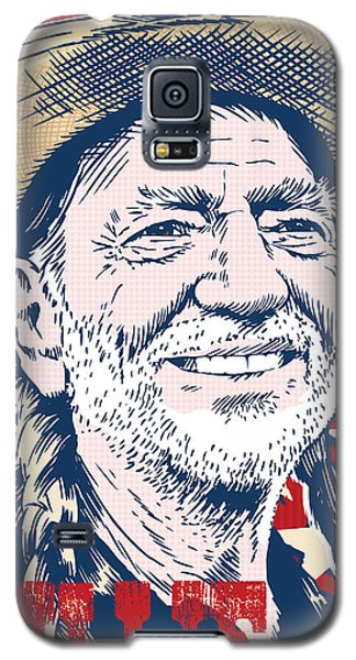 Willie Nelson Pop Art Galaxy S5 Case