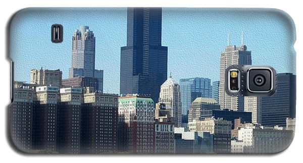 Willis Tower Galaxy S5 Case by Kathie Chicoine