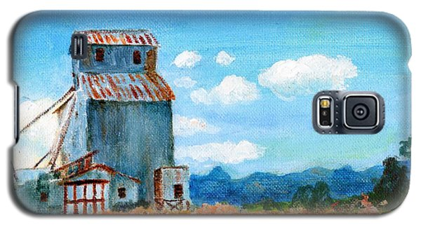 Willow Creek Grain Elevator II Galaxy S5 Case