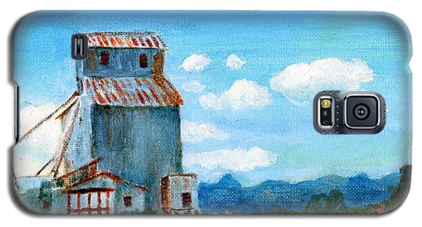 Willow Creek Grain Elevator II Galaxy S5 Case