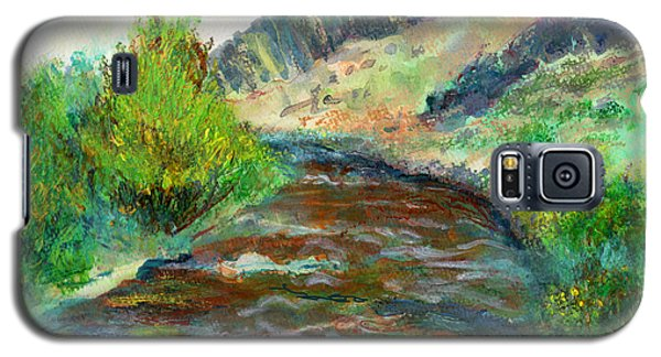 Willow Creek In Spring Galaxy S5 Case