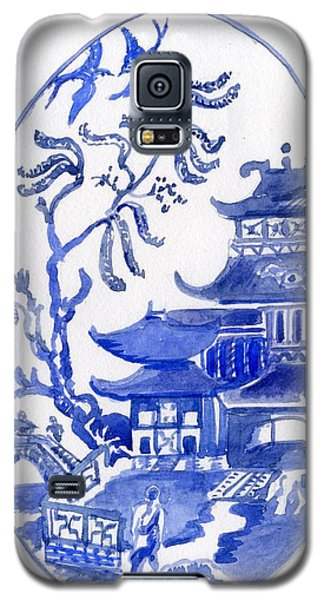 Willow Pattern Egg I Galaxy S5 Case