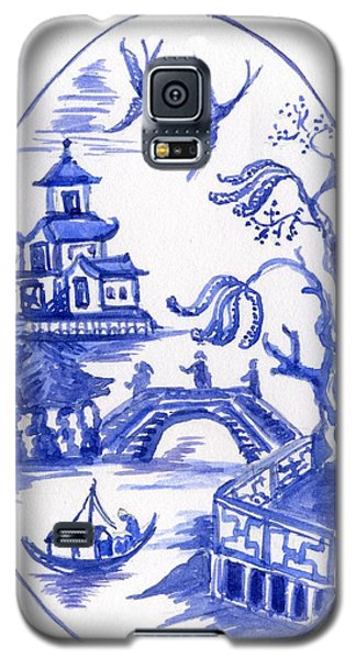 Willow Pattern Egg II Galaxy S5 Case
