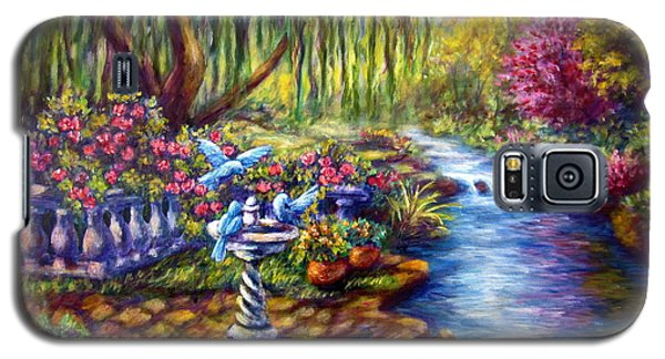 Willow Tree By The Stream Galaxy S5 Case