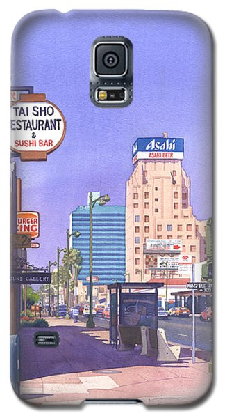 Beverly Hills Galaxy S5 Case - Wilshire Blvd At Mansfield by Mary Helmreich
