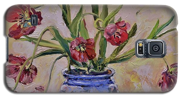 Wilting Tulips Galaxy S5 Case