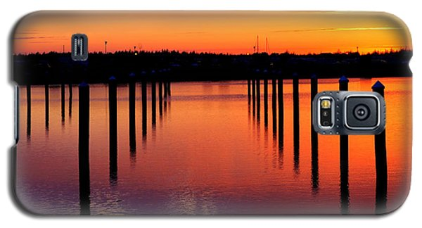 Winchester Bay Sunset Galaxy S5 Case