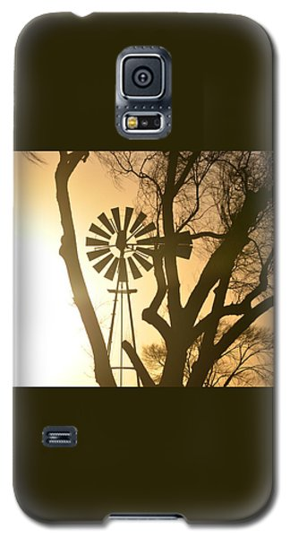 Spinning In The Sundown Galaxy S5 Case by Clarice  Lakota