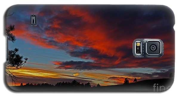 Black Hills Sunset Galaxy S5 Case