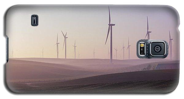 Wind Farm At Dawn Galaxy S5 Case
