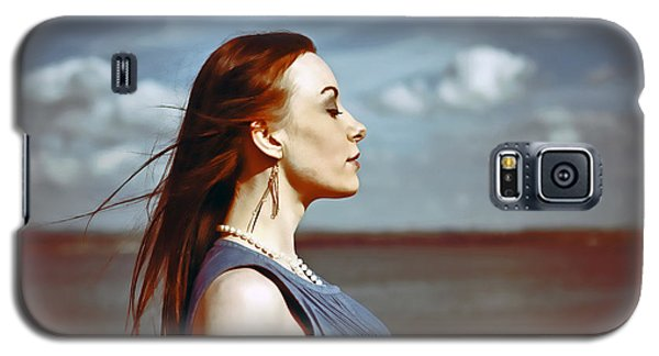 Wind In Her Hair Galaxy S5 Case by Craig B
