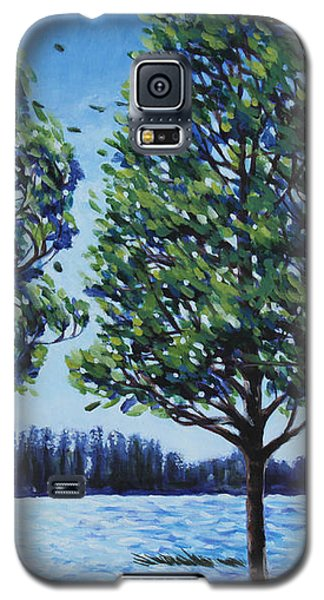 Wind In The Trees Galaxy S5 Case by Penny Birch-Williams