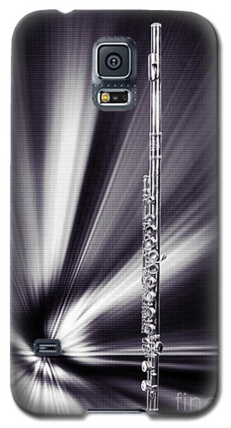 Wind Instrument Music Flute Photograph In Sepia 3301.01 Galaxy S5 Case