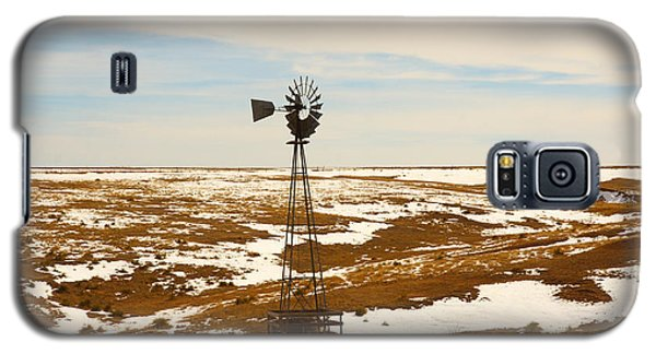 Galaxy S5 Case featuring the photograph Wind Mill  by Shirley Heier