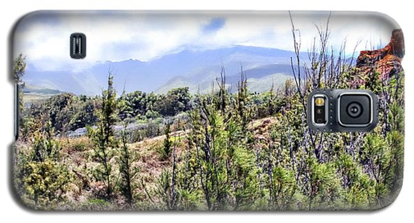 Wind Swept Maui Landscape Galaxy S5 Case