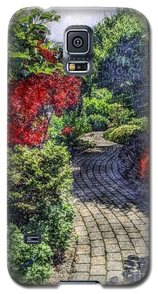 Galaxy S5 Case featuring the photograph Winding Path  by Becky Lupe