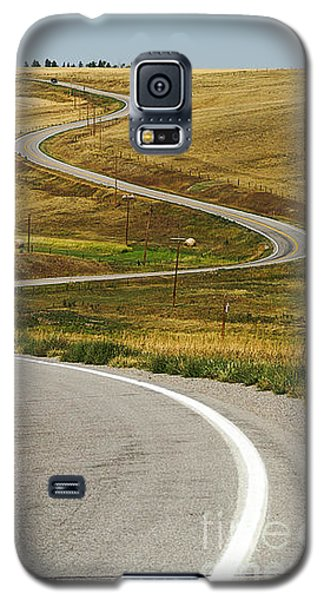 Galaxy S5 Case featuring the photograph Winding Road by Sue Smith