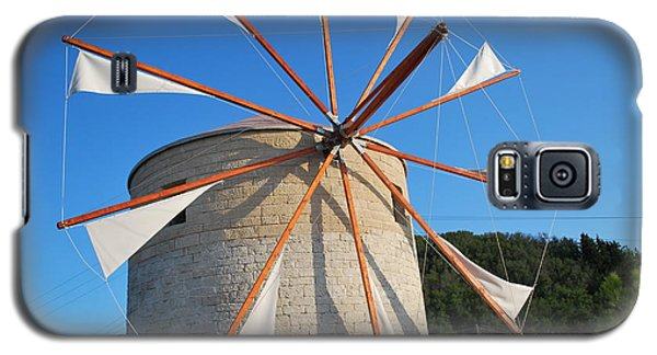 Windmill  2 Galaxy S5 Case by George Katechis