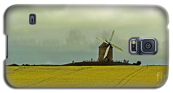 Windmill And Rapeseed And Storm Galaxy S5 Case
