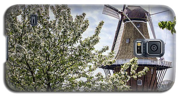 Windmill At Windmill Gardens Holland Galaxy S5 Case