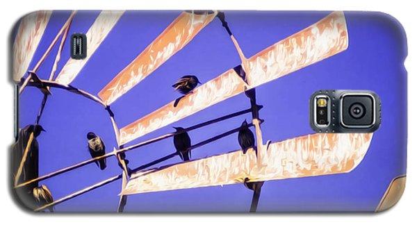 Windmill Birds Galaxy S5 Case