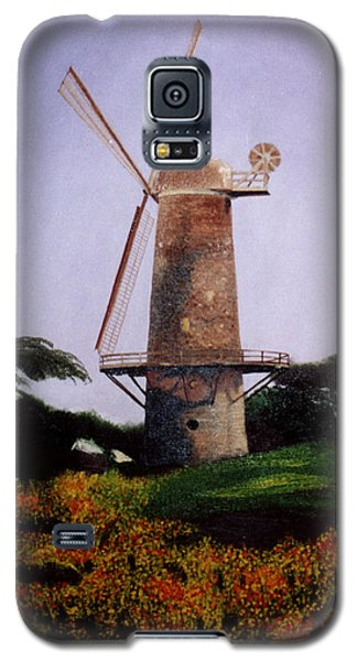 Windmill In Golden Gate Park Galaxy S5 Case