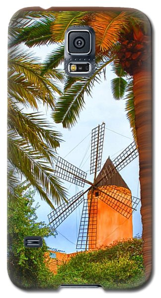 Windmill In Palma De Mallorca Galaxy S5 Case