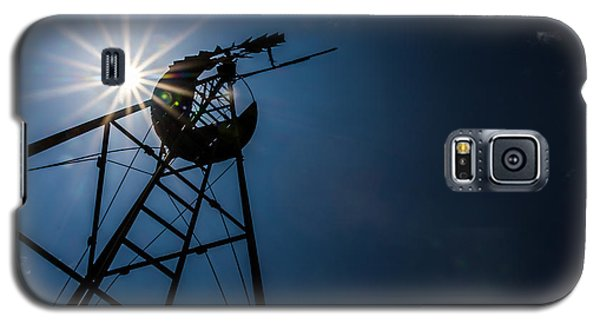 Galaxy S5 Case featuring the photograph Windmill by Jay Stockhaus