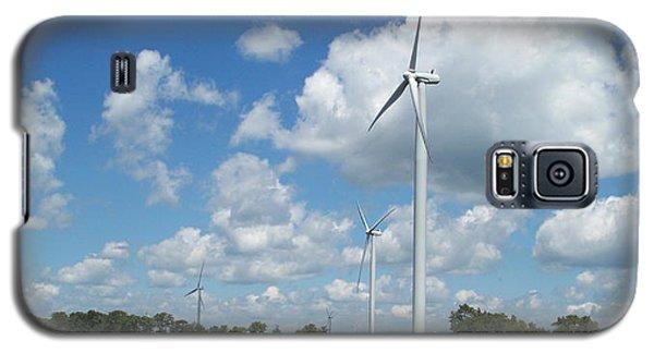 Galaxy S5 Case featuring the photograph Windmill by John Mathews