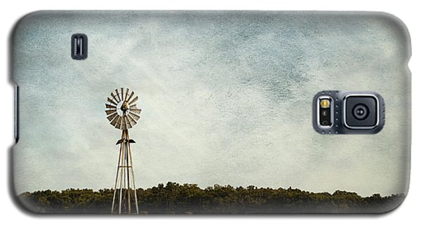 Windmill On The Farm Galaxy S5 Case