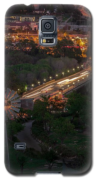 Windmill Over Niblick Bridge Galaxy S5 Case