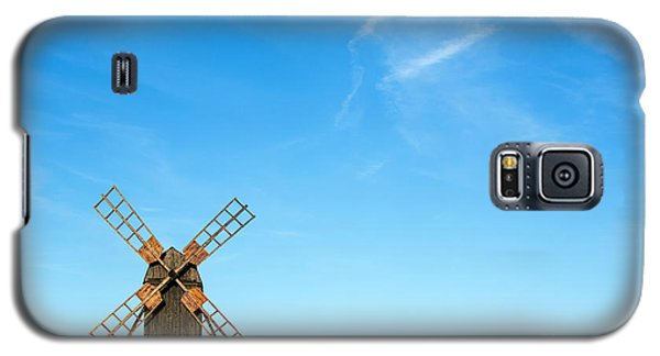 Windmill Portrait Galaxy S5 Case