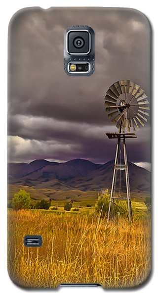 Windmill Galaxy S5 Case by Robert Bales
