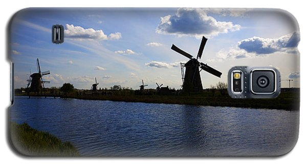 Windmills  At Twilight Galaxy S5 Case
