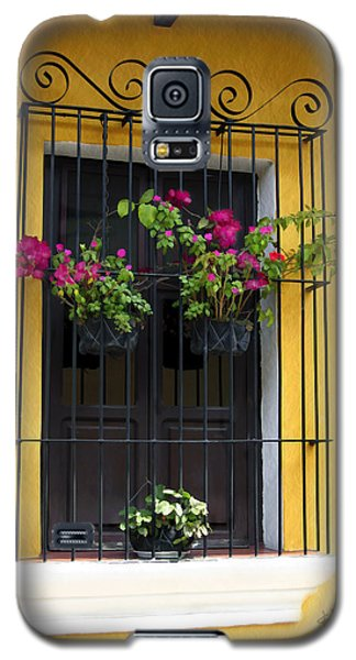Window At Old Antigua Guatemala Galaxy S5 Case
