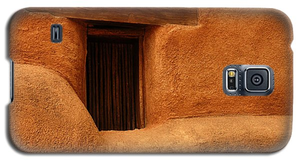 Window Detail Degrazia Mission In The Sun Galaxy S5 Case by Vivian Christopher