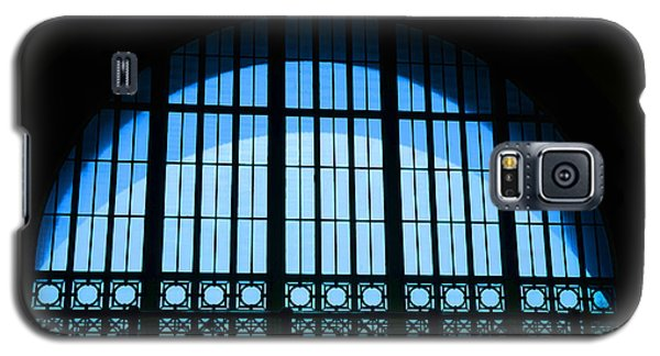 Galaxy S5 Case featuring the photograph Window In Chattanooga Train Depot by Susan  McMenamin
