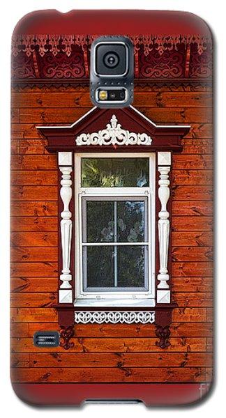 Window In Red Galaxy S5 Case