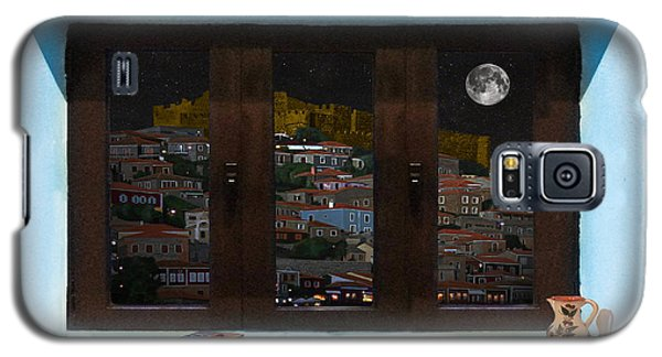 Galaxy S5 Case featuring the photograph Window Into Greece 3 by Eric Kempson