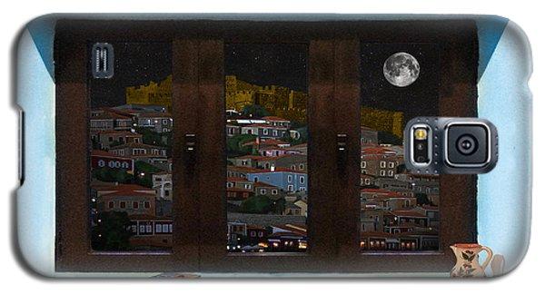 Window Into Greece 3 Galaxy S5 Case