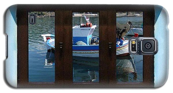 Window Into Greece  Galaxy S5 Case by Eric Kempson
