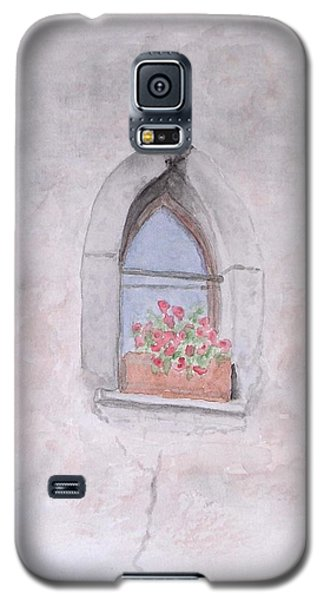 Galaxy S5 Case featuring the painting Window by Karin Thue