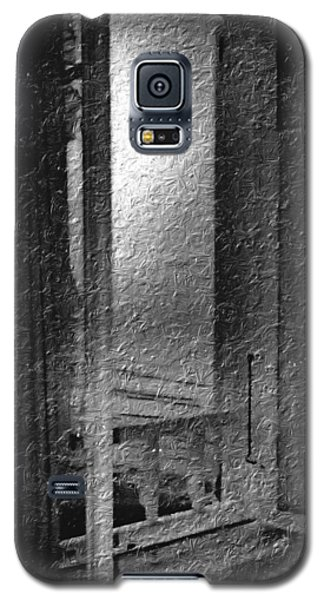 Window Ocean View Black And White Digital Painting Galaxy S5 Case