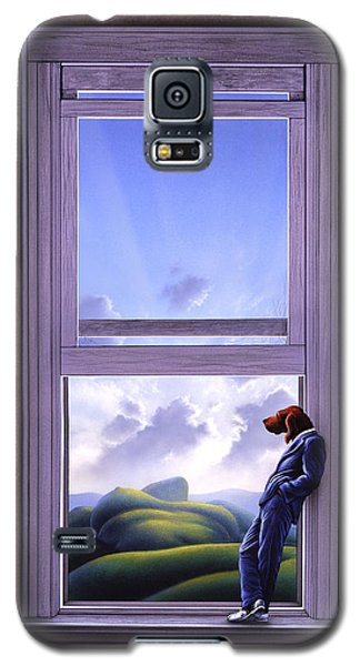 Surrealism Galaxy S5 Case - Window Of Dreams by Jerry LoFaro