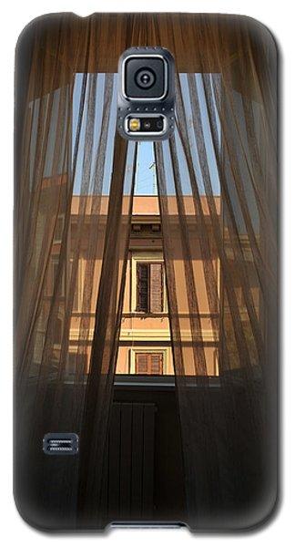 Window On Rome Galaxy S5 Case