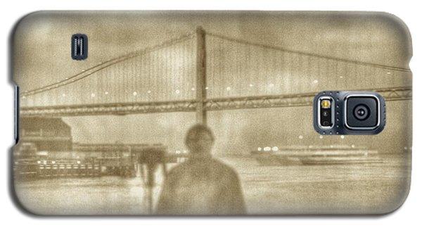window self-portrait Embarcadero San Francisco Galaxy S5 Case