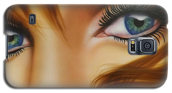 Window To The Soul Galaxy S5 Case