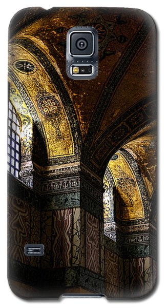 Windows In The Blue Mosque Galaxy S5 Case by Marion McCristall